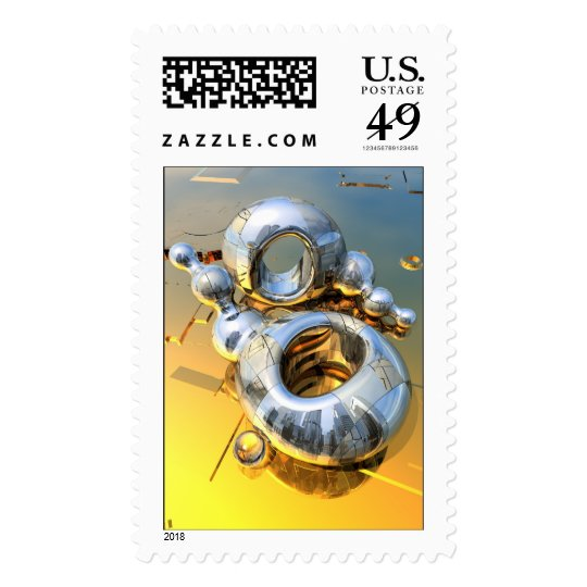 Balls from Mars Postage