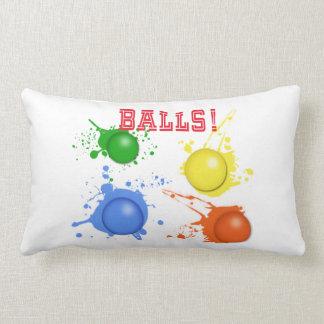Balls! Lumbar Pillow