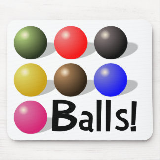 Balls Mousepad for Snooker Players and ALL!