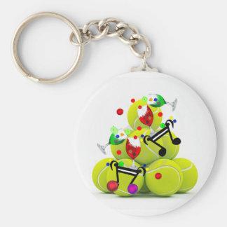 Balls music joy. keychain
