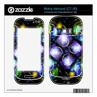 Balls of Fire Decal For Nokia Astound