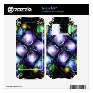 Balls of Fire Nokia N97 Skin