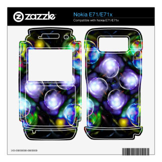 Balls of Fire Decal For Nokia E71x