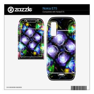 Balls of Fire Nokia E75 Decal