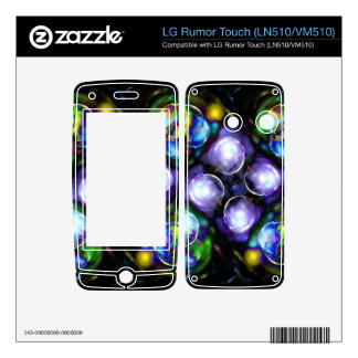 Balls of Fire LG Rumor Touch Decals