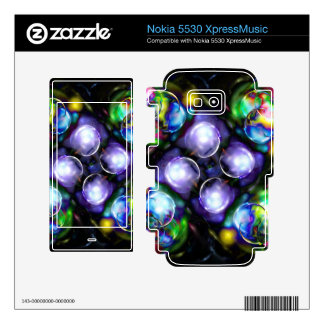 Balls of Fire Nokia 5530 Skin