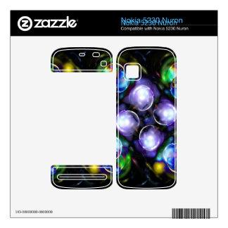 Balls of Fire Nokia 5230 Nuron Decal