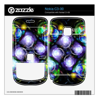 Balls of Fire Decal For The Nokia C3-00