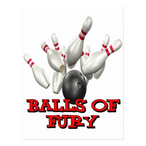 Balls of Fury Postcard