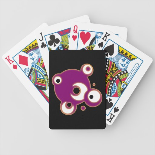 Balls of spheres bicycle playing cards