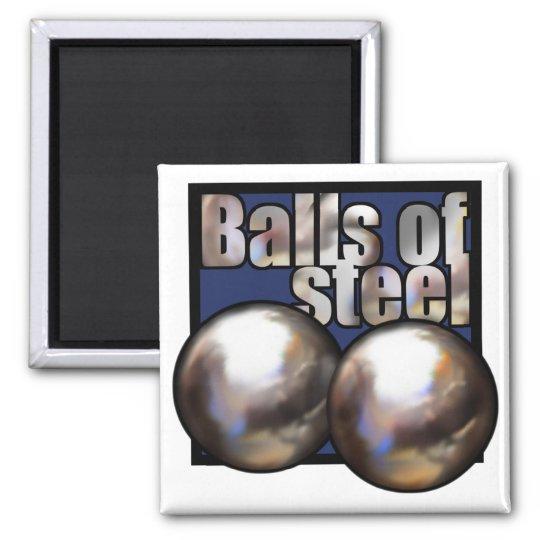 Balls of Steel fridge magnet