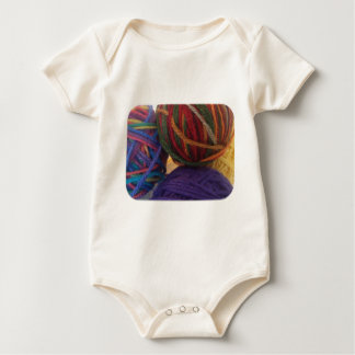 Balls of Yarn Baby Bodysuit