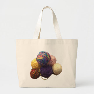 Balls of Yarn Jumbo Tote Bag