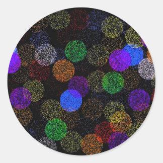 Balls of Yarn Classic Round Sticker
