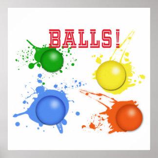 Balls! Poster