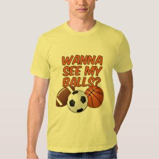 Balls shirt - choose style & color