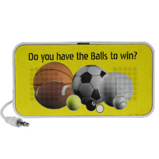 Balls Sports  Do you have the Balls to Win? Mini Speaker