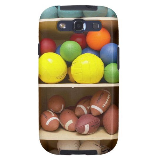 Balls stored in cabinet galaxy SIII cover