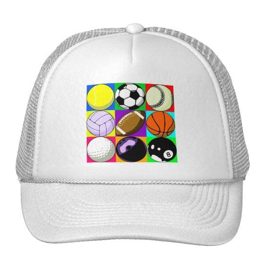 BALLS TRUCKER HAT