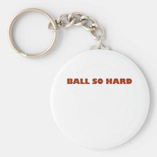 ballsohard.png basic round button keychain