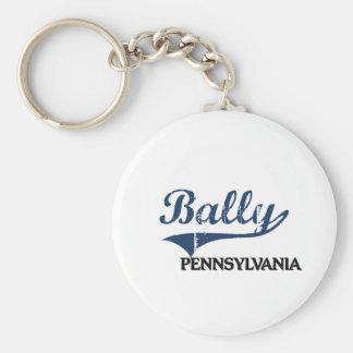 Bally Pennsylvania City Classic Key Chain