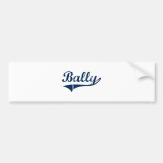 Bally Pennsylvania Classic Design Car Bumper Sticker