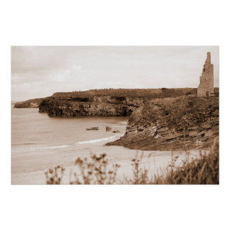 ballybunion sea and cliff rescue service launching poster