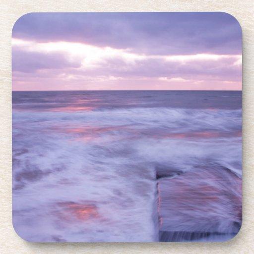 Ballyconnigar Strand at dawn Coasters