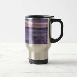 Ballyconnigar Strand at dawn Travel Mug