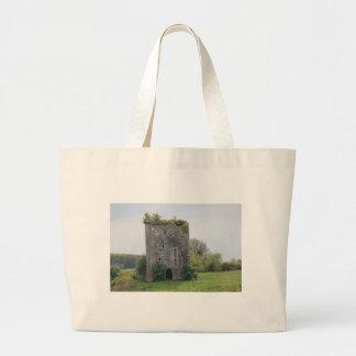 Ballymaquiff Castle Large Tote Bag