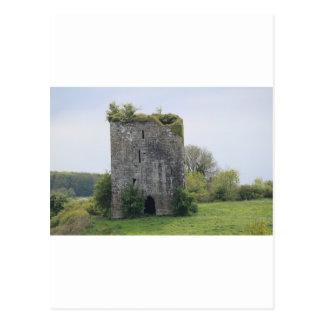 Ballymaquiff Castle Postcard