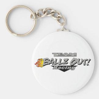 Ballzout Race Team Logo Key Chain