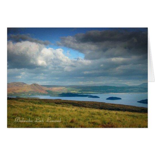 balmaha, Balmaha  Loch  Lomond Card