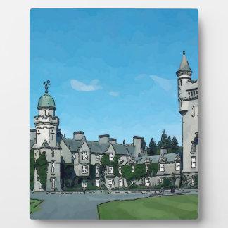 Balmoral Castle Plaque
