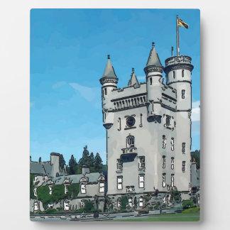 Balmoral Castle Plaques