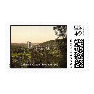 Balmoral Castle, Scotland 1905 Postage