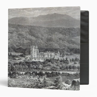 Balmoral, from 'Leisure Hour', 1888 3 Ring Binder