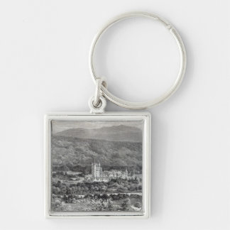 Balmoral, from 'Leisure Hour', 1888 Keychain