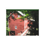 Balmoral Grist Mill  Nova Scotia Gallery Wrapped Canvas