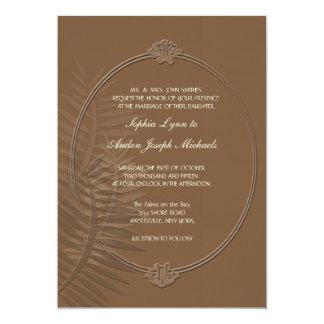 "Balmy Night Wedding Invitation 5"" X 7"" Invitation Card"
