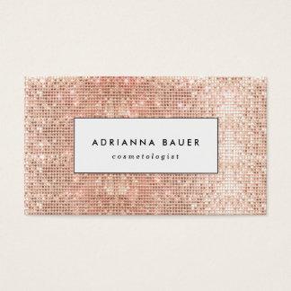 Balneario de cobre elegante de la belleza del tarjeta de negocios