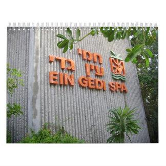 Balneario de Ein Gedi Calendarios De Pared