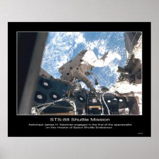 Balneario de James H. Newman del astronauta de la  Póster