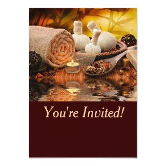 Balneario Invitación 11,4 X 15,8 Cm