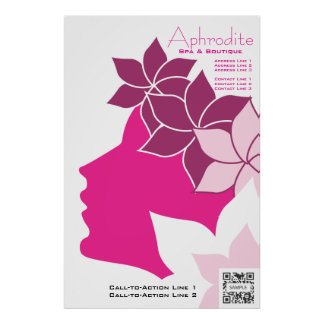 Balneario y boutique del Aphrodite de la plantilla Impresiones