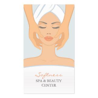 Balneario y tarjeta de visita de la belleza