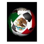 Balón 2010 de fútbol de México Tarjetas Postales