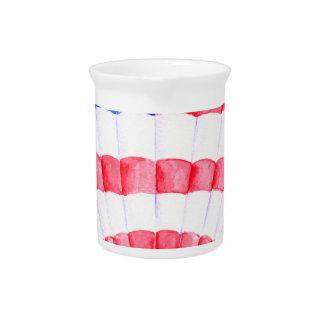 Balón de aire de la bandera americana de la jarras