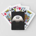 Balón de fútbol 3 cartas de juego