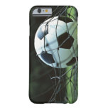 Balón de fútbol 3 funda de iPhone 6 barely there